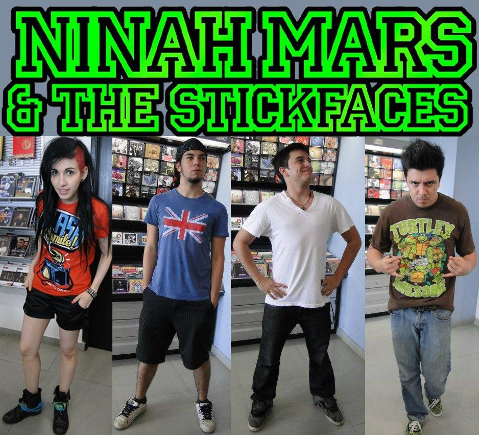 Ninah Mars & the Stickfaces  - default icon