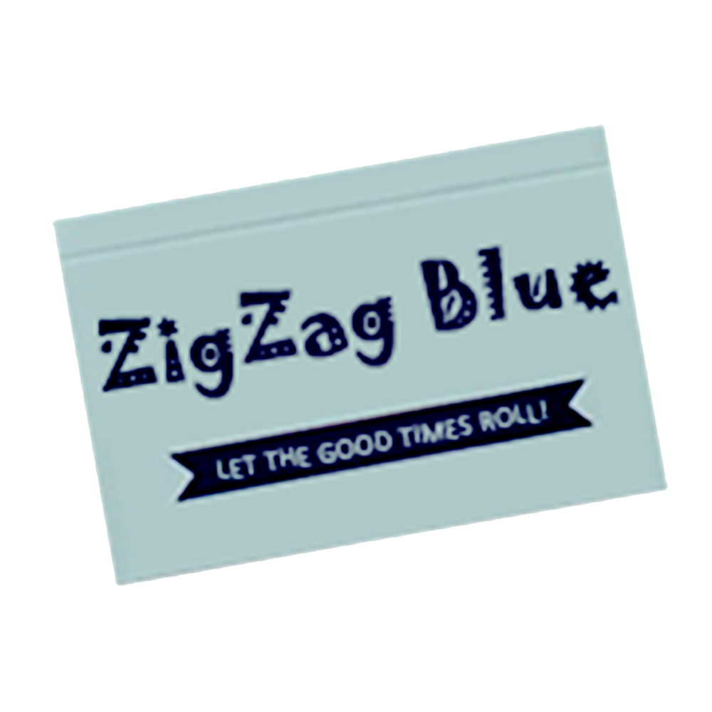 Zig Zag Blue - default icon