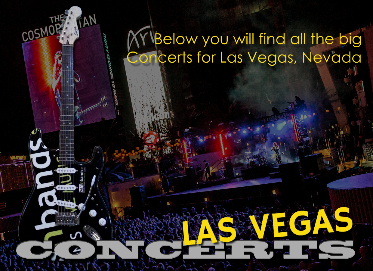 Concert page title feature vegas