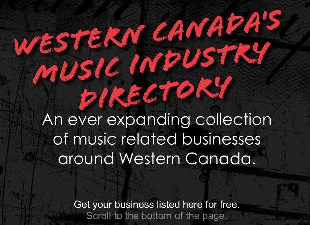 Music Industry Directory Title ad
