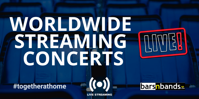 Worldwide Streaming Concerts Index ad