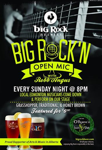 Big Rock Open Mic Night