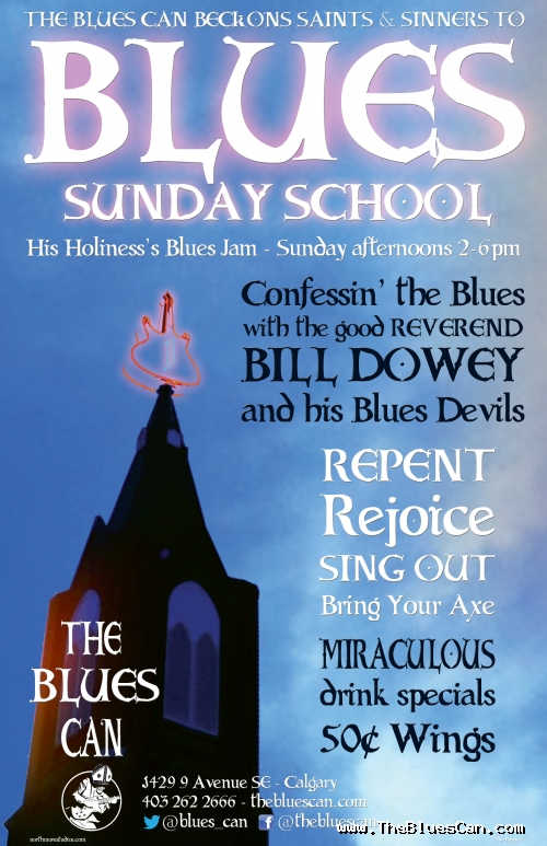 Bill Dowey and the Blues Devils Sunday Jam