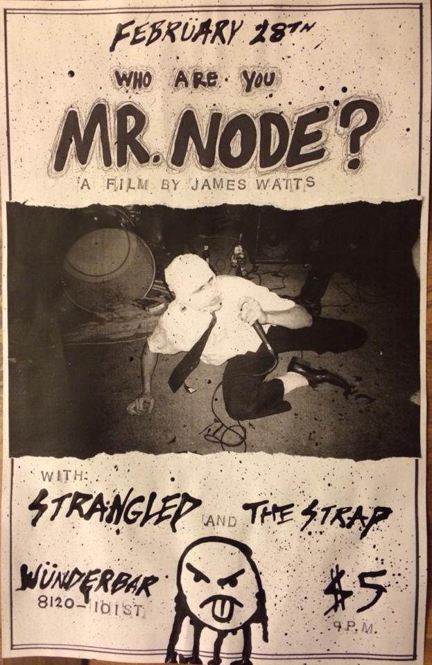 Who Are You Mr Node Film Screening W Strangled The Strap