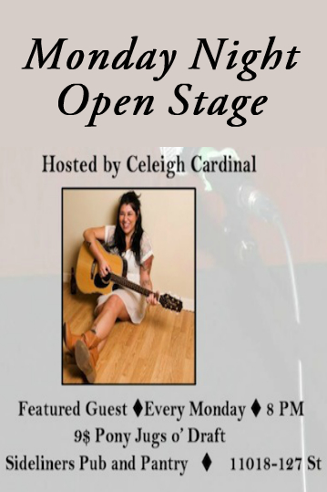 Sideliners Songwriter Open Stage Monday