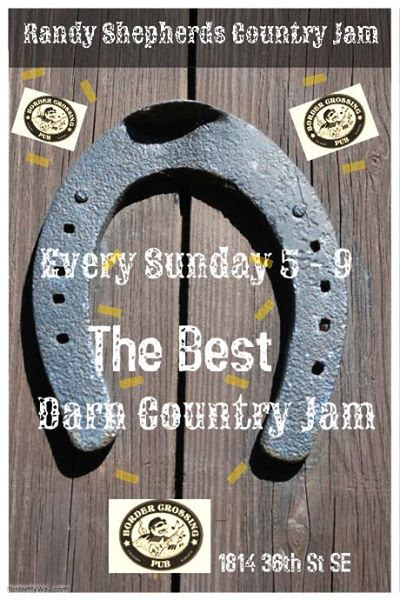 The Border Crossing Sunday Country jam