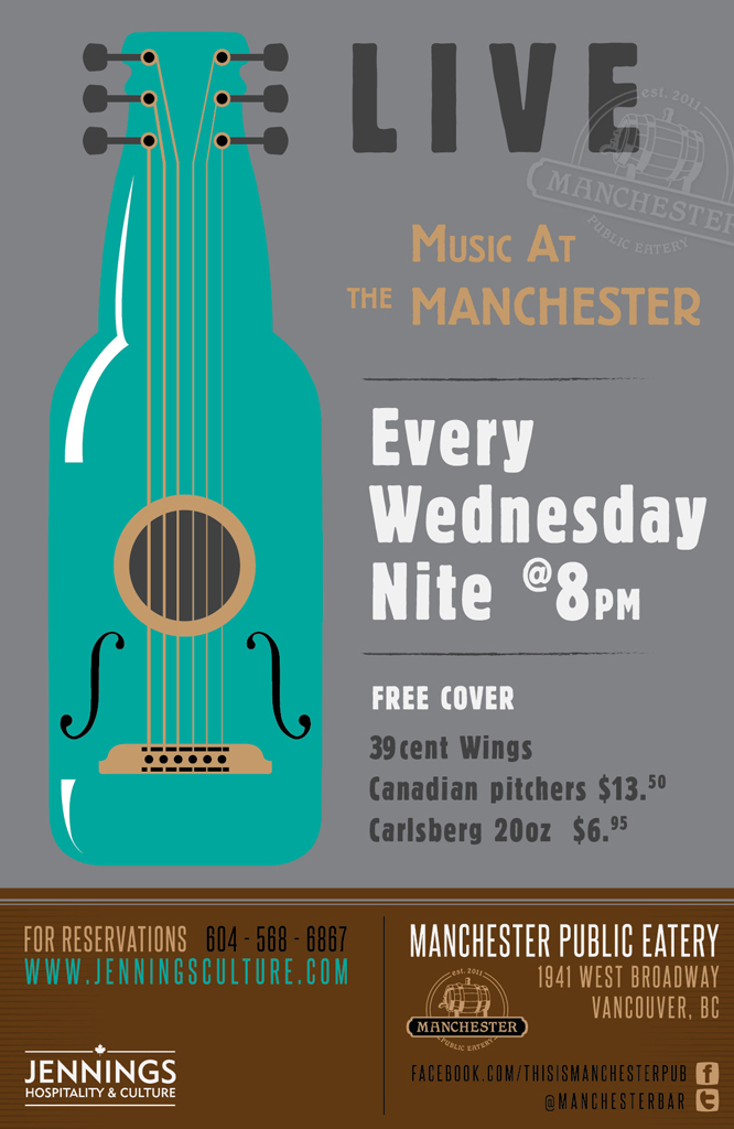 Music at the Manchester Open Mic
