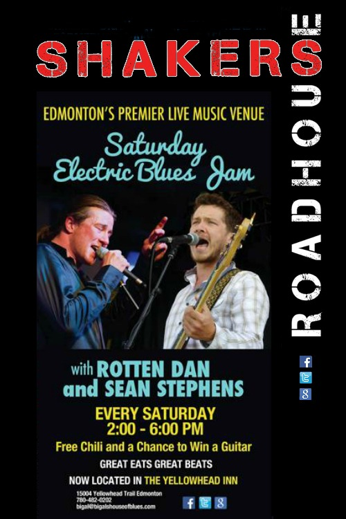 Saturday Electric Blues Jam with Rotten Dan and Sean Stephens
