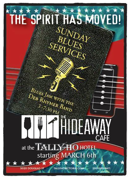 Sunday Blues Services at the Hideway
