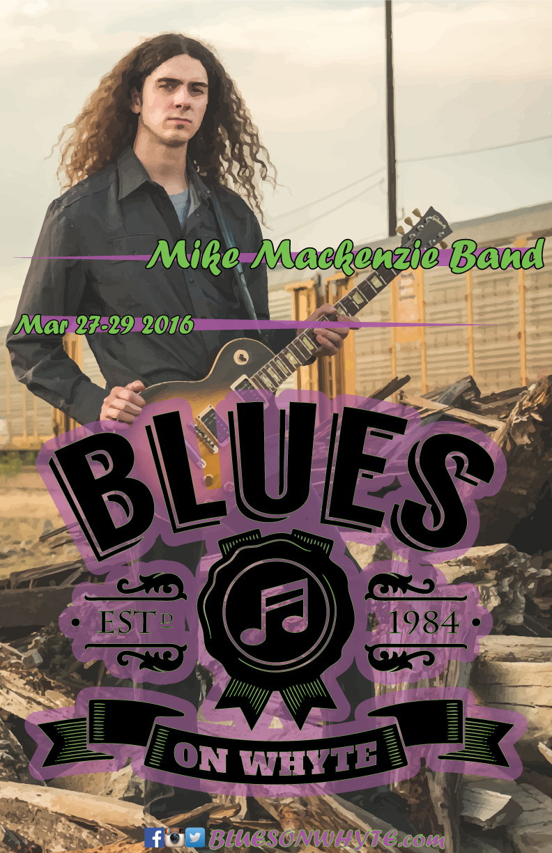 the mike mackenzie band blues on whyte. Black Bedroom Furniture Sets. Home Design Ideas