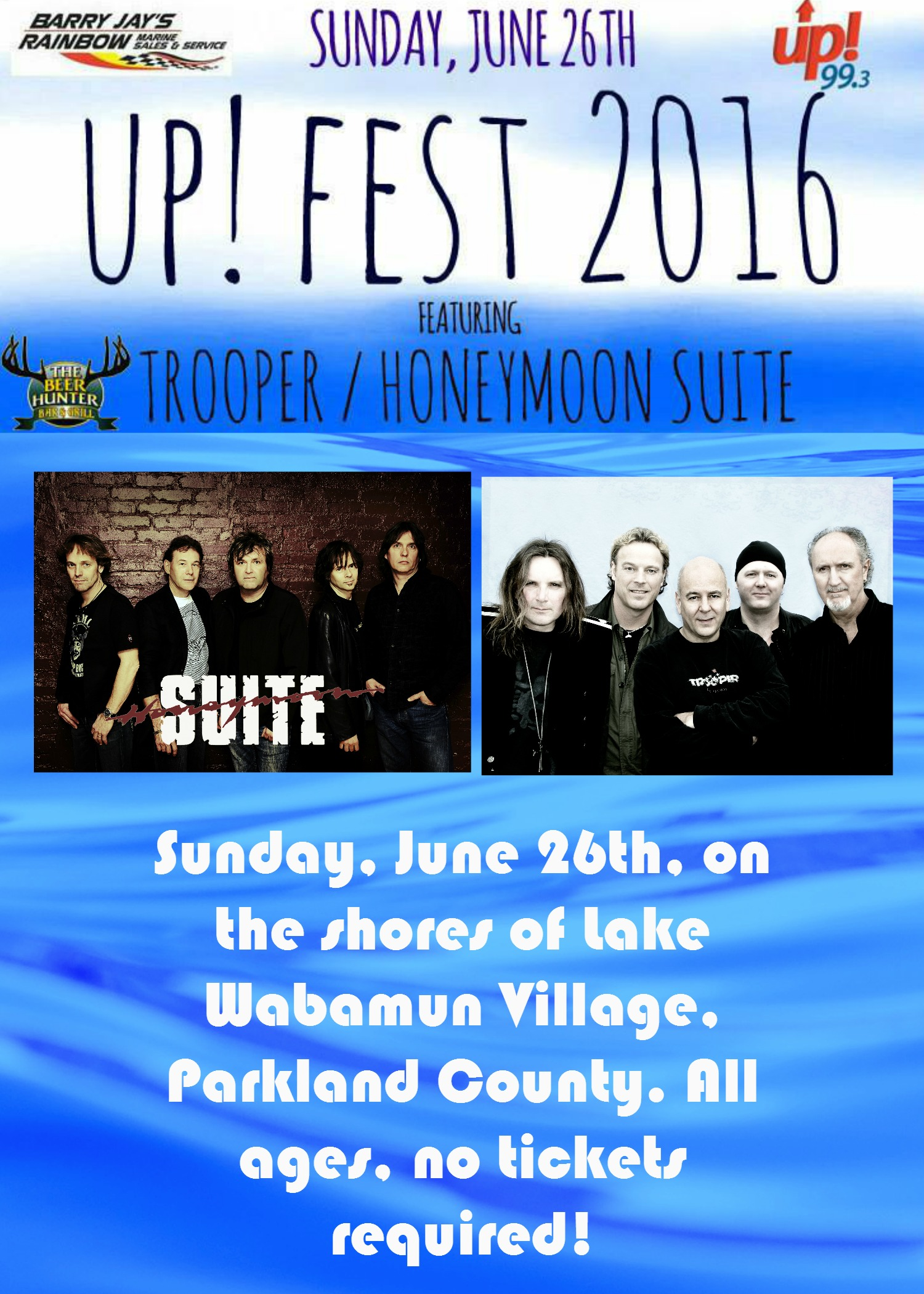 Up FEST 2016 Ft Trooper Honeymoon Suite