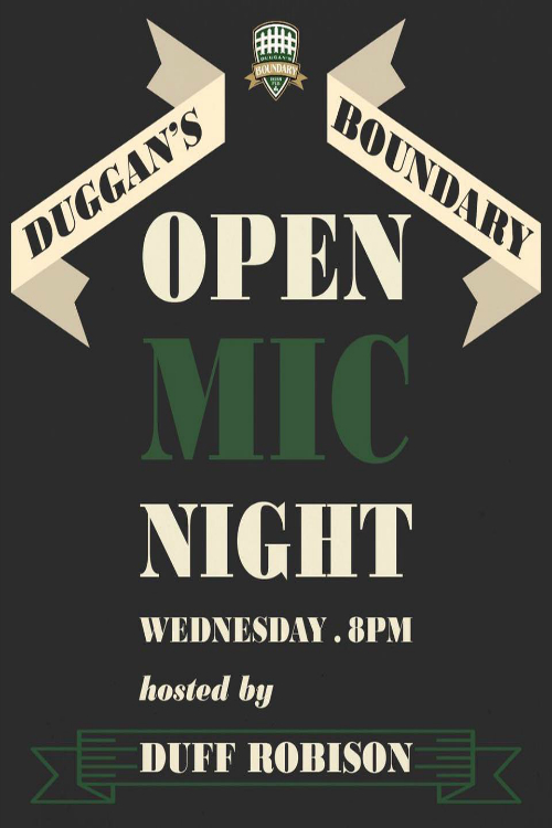 Open Mic Night Hosted by Duff Robison