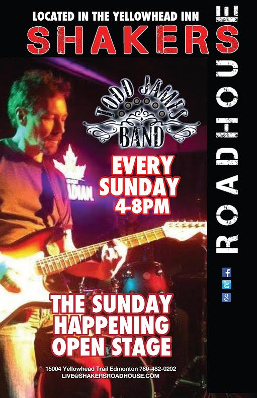 The Sunday Happening Jam featuring The Todd James Band