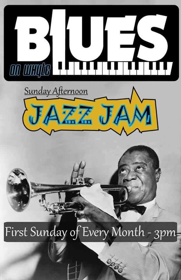 blues on whyte sunday afternoon jazz jam feat the. Black Bedroom Furniture Sets. Home Design Ideas