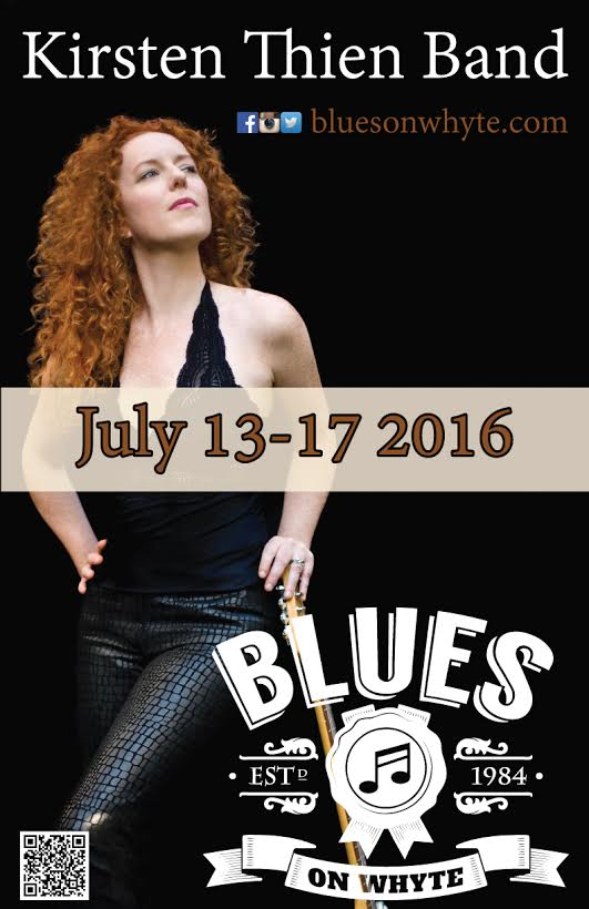 kirsten thien band the blues on whyte. Black Bedroom Furniture Sets. Home Design Ideas