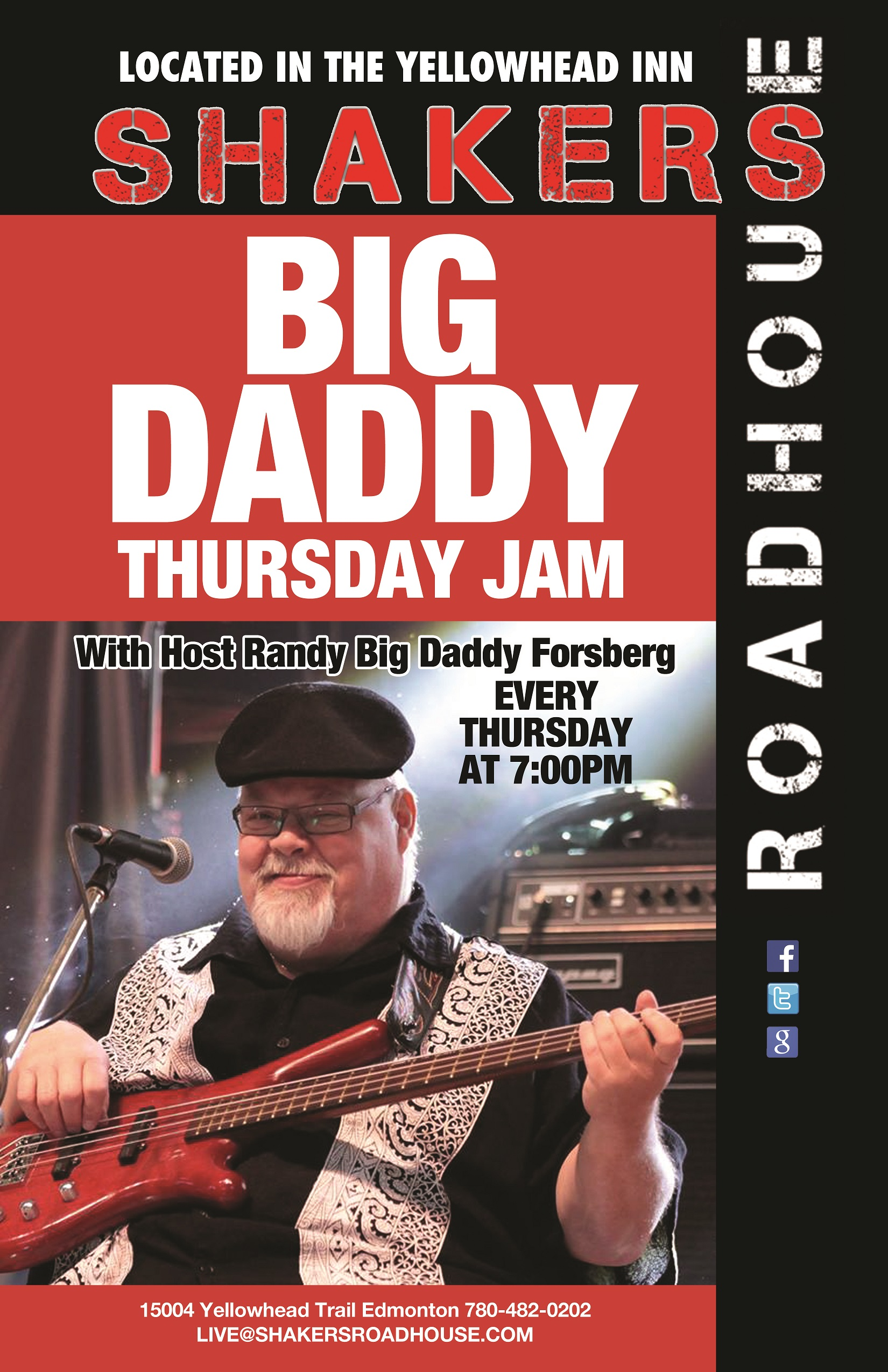 Big Daddy Thursday Jam @ Shakers Roadhouse