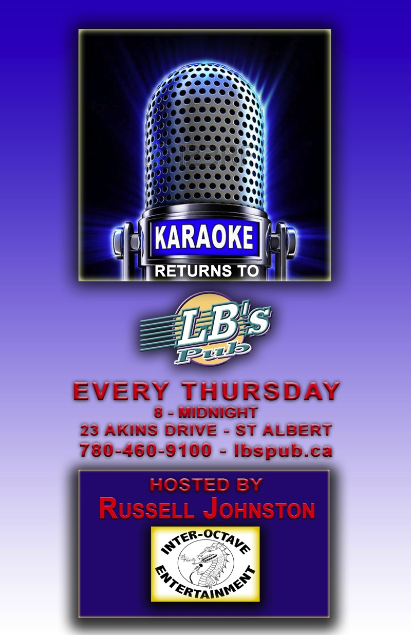 Thursday Karaoke Returns - Hosted by Russell Johnston