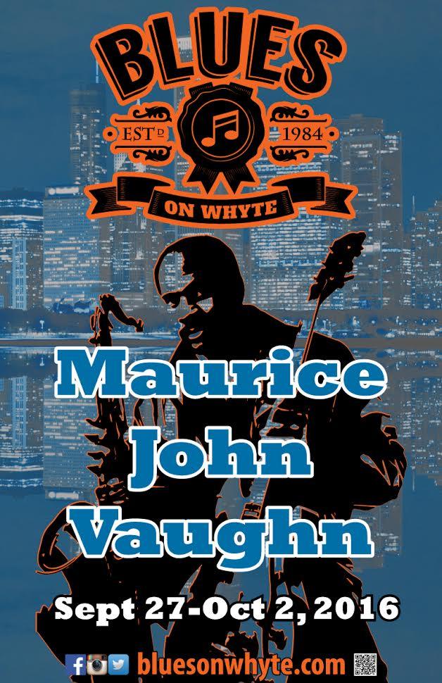 maurice john vaughn the blues on whyte. Black Bedroom Furniture Sets. Home Design Ideas