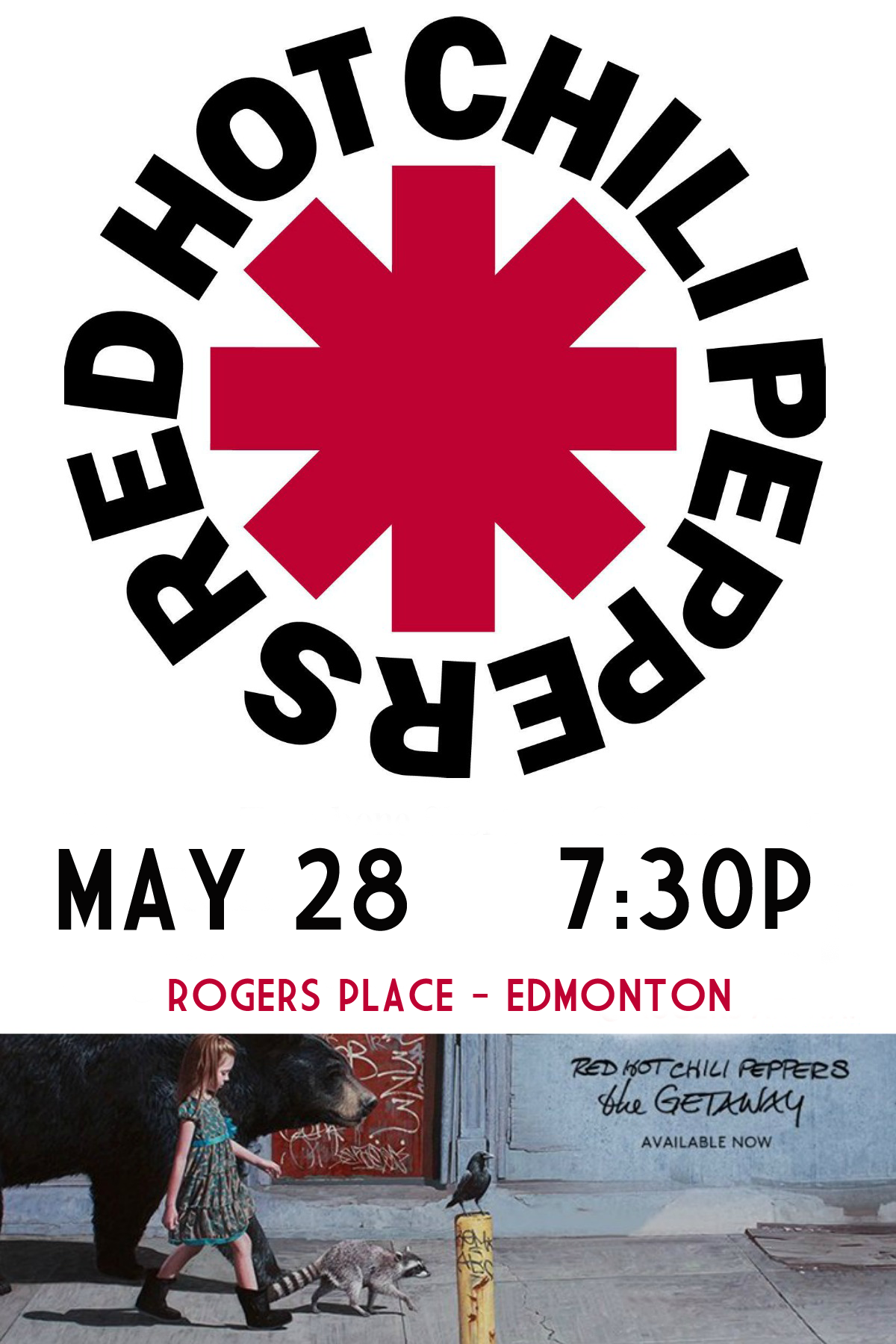 Red Hot Chili Peppers @ Rogers Place Edmonton