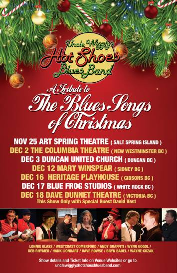 uncle wigglys hot shoes blues band tribute to the blues songs of christmas - Blues Christmas Songs