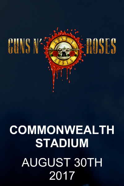 Guns N' Roses - Edmonton August 30th 2017