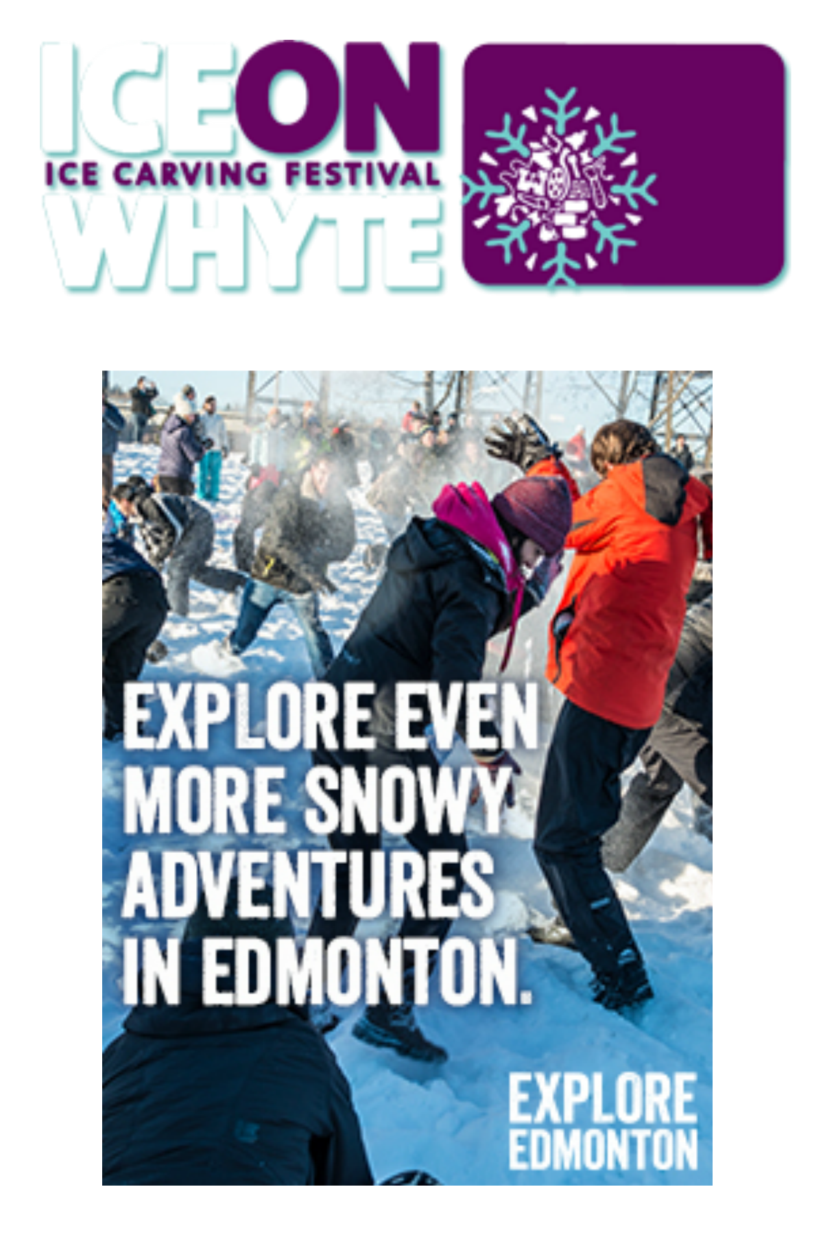16th Annual Ice On Whyte Ice Carving Festival