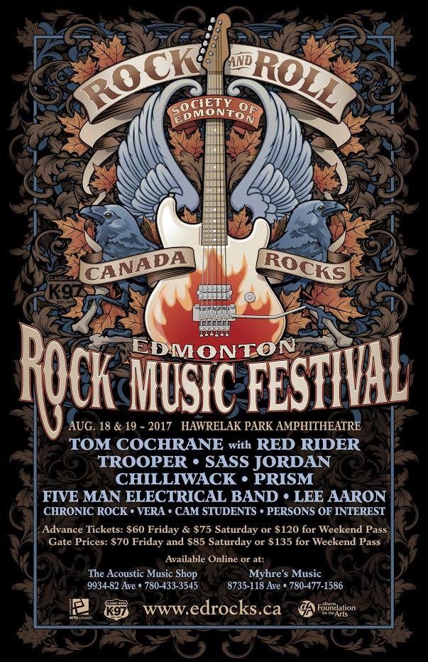 7th Annual Edmonton Rock Music Festival