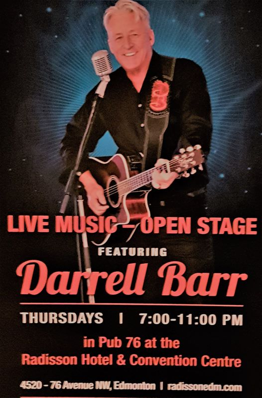 Darrell Barr Open Stage Thursday Nights @ Pub 76