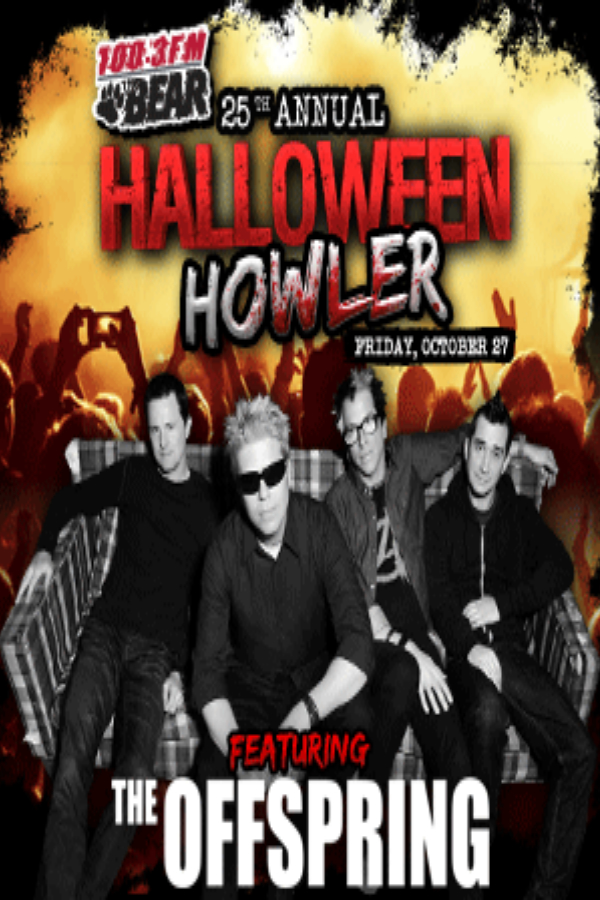 THE BEAR'S 25TH ANNUAL HALLOWEEN HOWLER @ Shaw Conference Centre