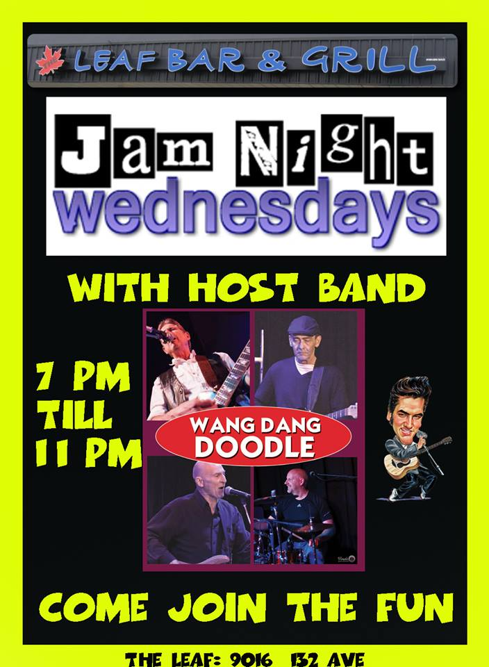 Wang Dang Wednesday Jam at The Leaf Bar and Grill