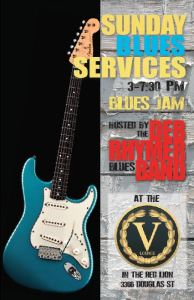 Postponed - Sunday Blues Service at the V Lounge