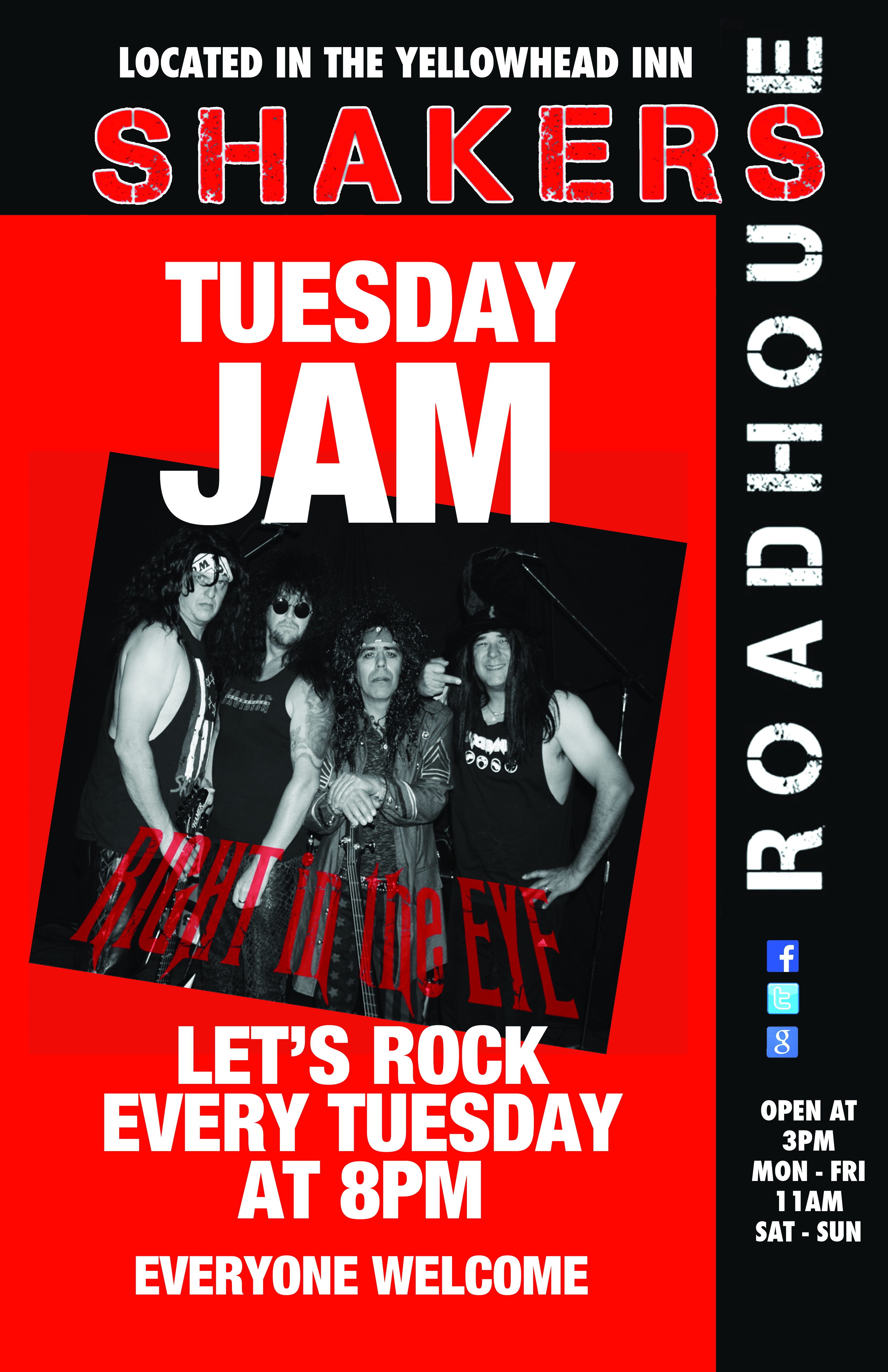 Tuesday Rock Jam w/ Right In The Eye
