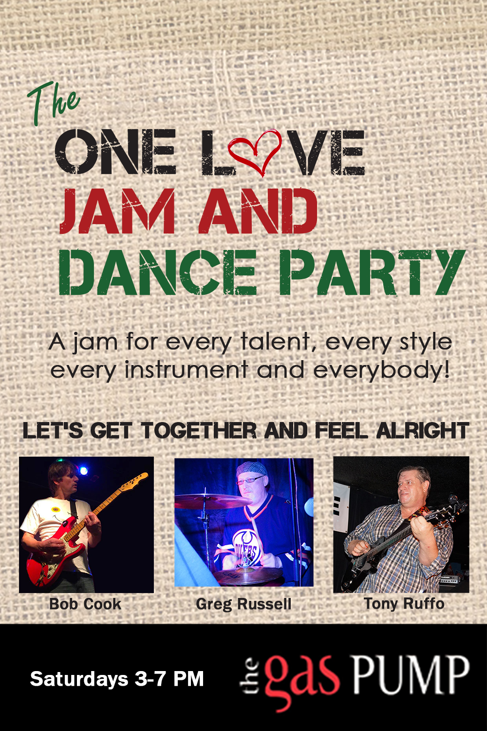 The One Love Jam and Dance Party