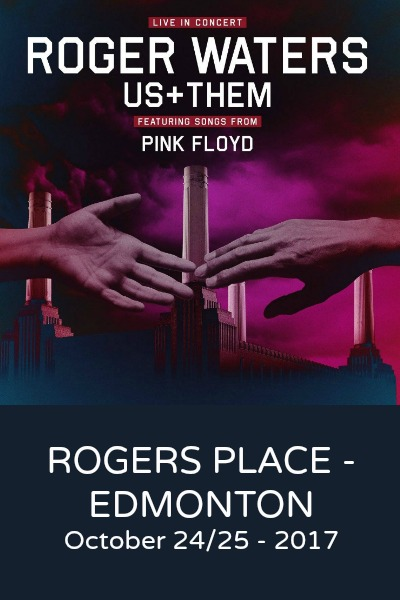 Roger Waters @ Rogers Place **Second Show Added**