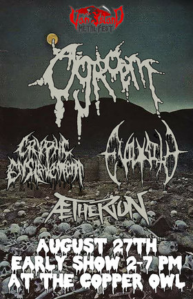 Vancouver Island Metal Festival Day 3 Ogroem, Evilosity, Cryptic Enslavement, Aetherion @ The Copper Owl