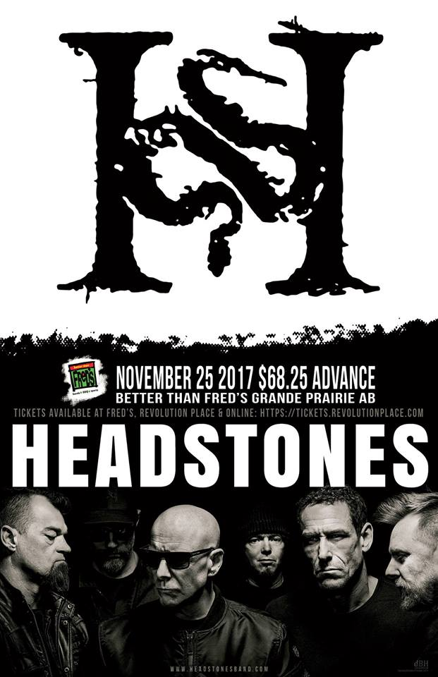 Headstones with guests Choice Not Chance @ Better Than Fred's