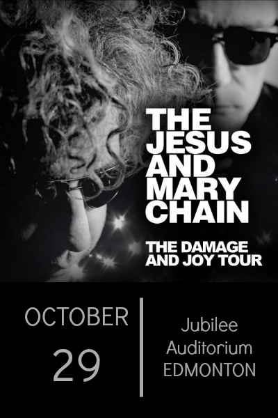 THE JESUS AND MARY CHAIN @ The Jubilee Auditorium