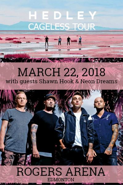 Hedley - Cageless Tour 2018 @ Rogers Place