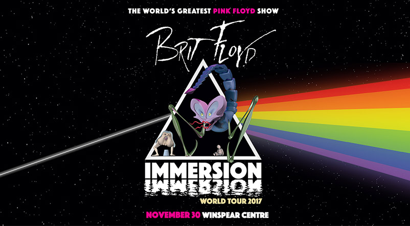 BRIT FLOYD - Immersion World Tour 2017 @ The Winspear Centre