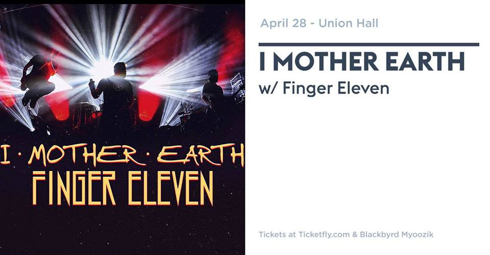 I Mother Earth - April 28 - Union Hall