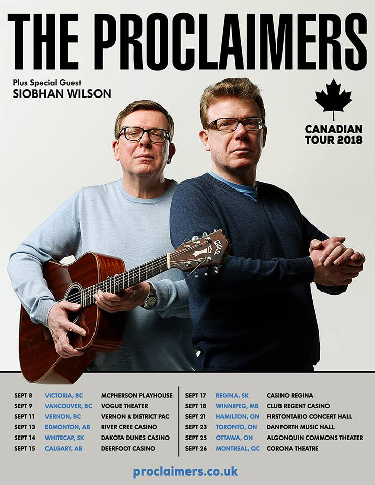 The Proclaimers @ McPherson Playhouse