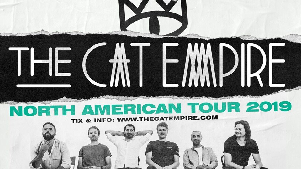 The Cat Empire - Winspear Centre, Edmonton