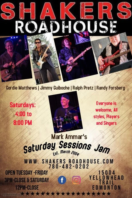 Mark Ammar's Saturday Sessions Jam