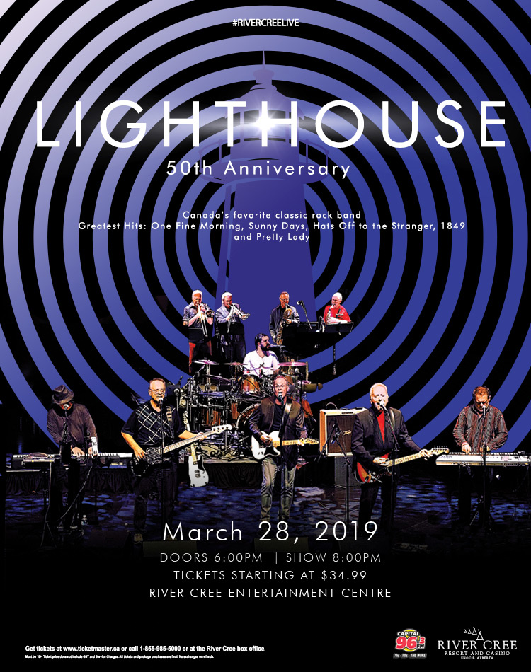 Lighthouse 50th Anniversary Tour @ River Cree Resort and Casino