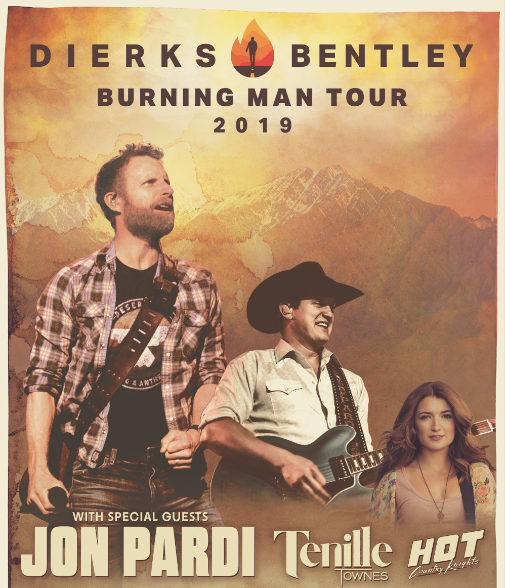 Dierks Bentley: Burning Man 2019 @ Rogers Place