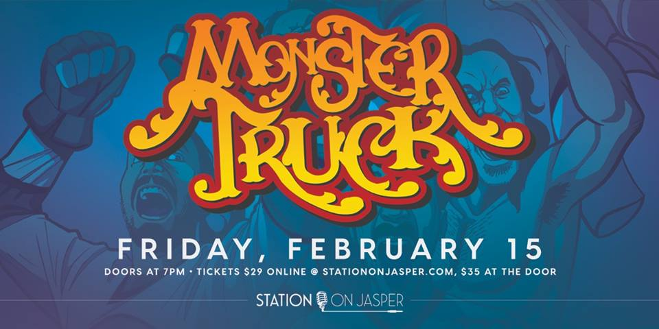 Monster Truck @ The Station on Jasper