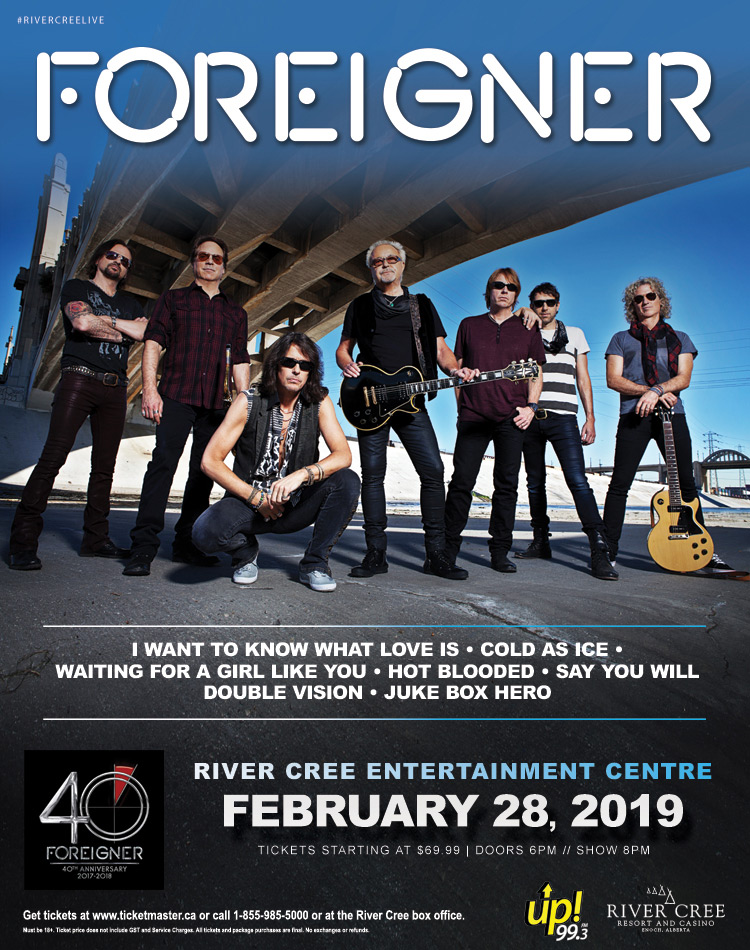 Foreigner @ River Cree Casino