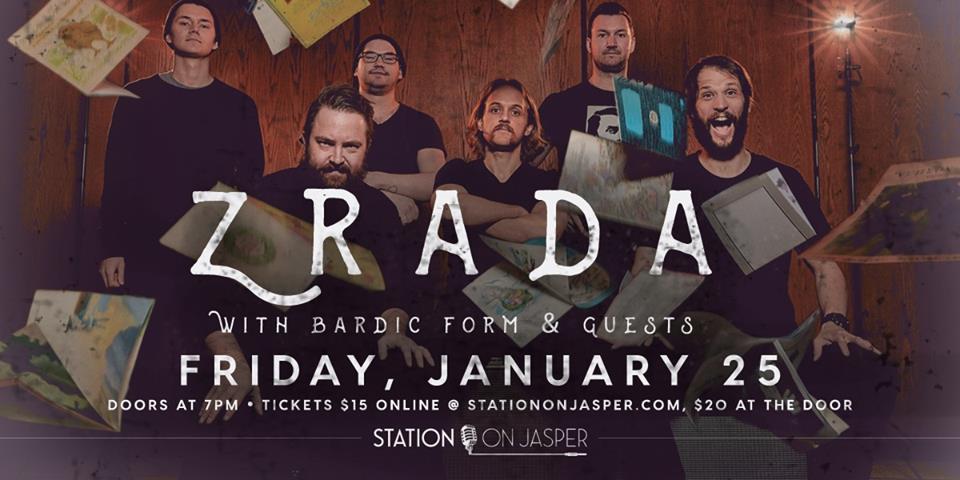 Zrada & Bardic Form @ The Station On Jasper