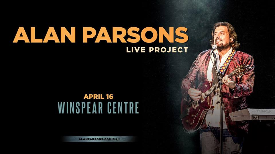 ALAN PARSONS LIVE PROJECT @ The Winspear Centre