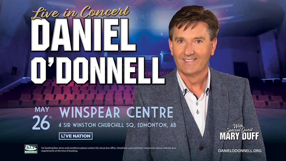 Daniel O'Donnell @ The Winspear Centre